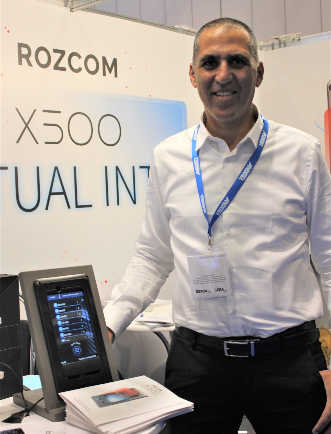 Rozcom - VP International BD Oren Ravid